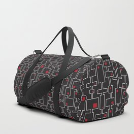 Red squares Duffle Bag