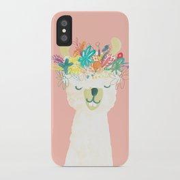 Llama Goddess iPhone Case