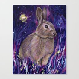 Rabbit Spirit Canvas Print