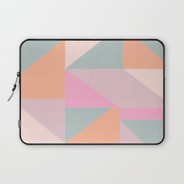 Sweet Candy Pastel Shapes Laptop Sleeve