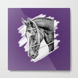 Sport Horse Metal Print