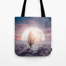 Hypnotized by the Moon Tote Bag