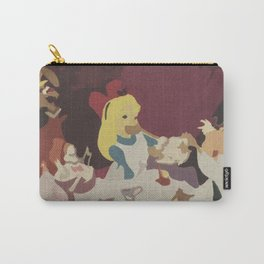 Tea Time in Wonderland Carry-All Pouch