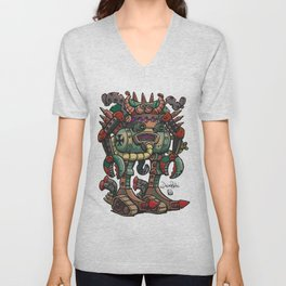 Old German robot Unisex V-Neck