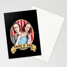 Tattler Twins (color) Stationery Cards
