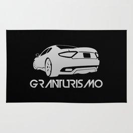 Maserati GranTurismo S - silver - Rug