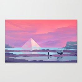 Ocean Pyramid Canvas Print