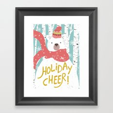 Merry Christmas 01 Framed Art Print