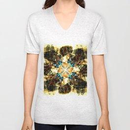 Kaleidoscope -Shoes Unisex V-Neck