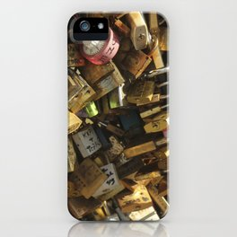 Lock Bridge iPhone Case