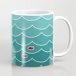 Deep Ocean Fish Coffee Mug