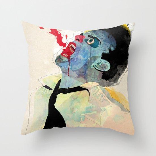 fountain v2 Throw Pillow