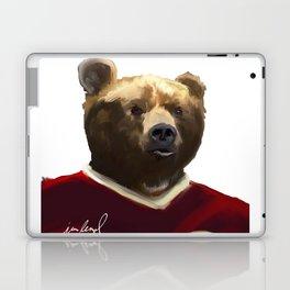 Big Red Bear Portrait Laptop & iPad Skin