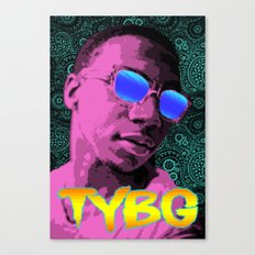 Pixel Art Lil B Canvas Print