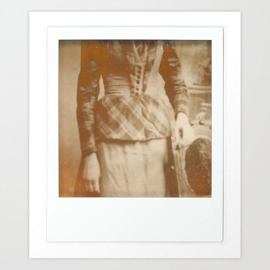 My ancestors like polaroid as much as I do Art Print