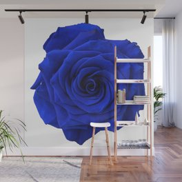 blue rose Wall Mural