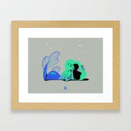 Mermay Conversations Framed Art Print