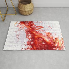 The Red Figure Rug