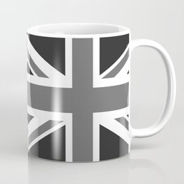 UK Flag - High Quality Authentic 1:2 scale in Grayscale Coffee Mug