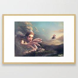Puthisen Neang Kong Rey Framed Art Print