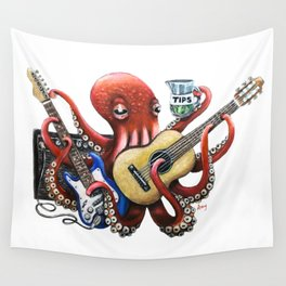 """""""OctoGig"""" - OctoKick collection Wall Tapestry"""