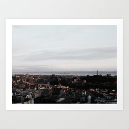 The Athens of the North Art Print