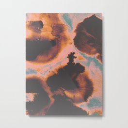 Burning Autumn Metal Print