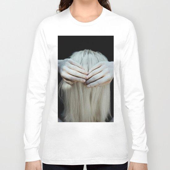 White hair Long Sleeve T-shirt