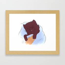 Softs Framed Art Print