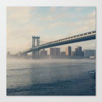 brooklyn Canvas Prints featuring Brooklyn  by Cristina Sandia