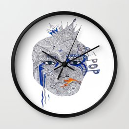 PopArt Wall Clock