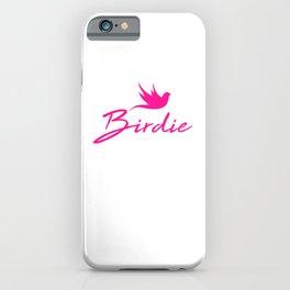 Birdie mag iPhone Case