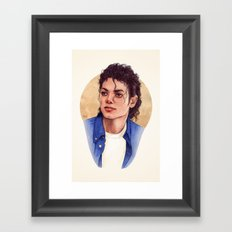 The Way You Make Me Feel Framed Art Print