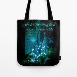 Frohe Weihnachten und ein gutes neues jahr Tote Bag