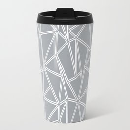Ab Blocks Grey #2 Travel Mug