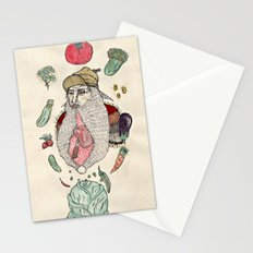 Closeted carnivore Stationery Cards