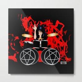 Kickstart  Metal Print