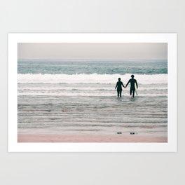 surf love Art Print