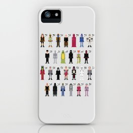 The Dark Side Alphabet 2 iPhone Case