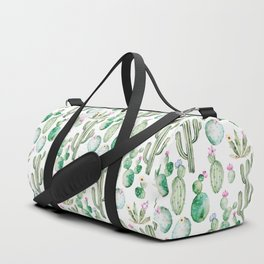 Cactus Summer Garden Duffle Bag