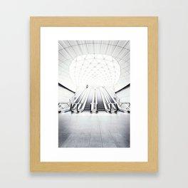 Triangeln Framed Art Print