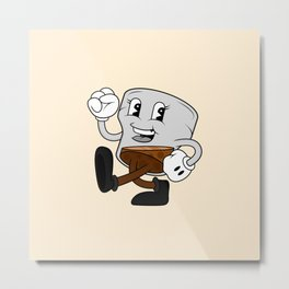 Scotch Stroll Metal Print