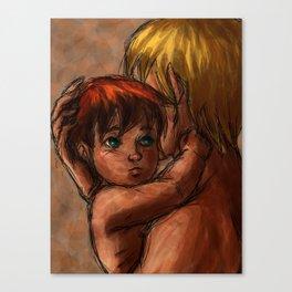 Amour vrai Canvas Print