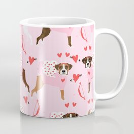 Boxer valentines day cute dog gifts pure breed rescue dogs must haves Coffee Mug