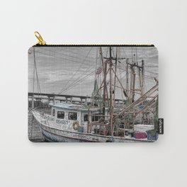 Fishing Boat in Harbor Carry-All Pouch
