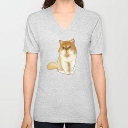 Winifred the Cat Unisex V-Neck