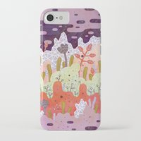 crystal iPhone & iPod Cases featuring Crystal Forest by LordofMasks