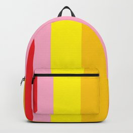 Bold Color - RED, YELLOW, AND PINK Backpack