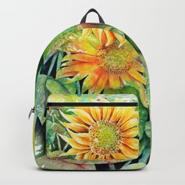 Colorful Sunflowers Backpack