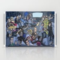 tv iPad Cases featuring TV by Anna Rettberg